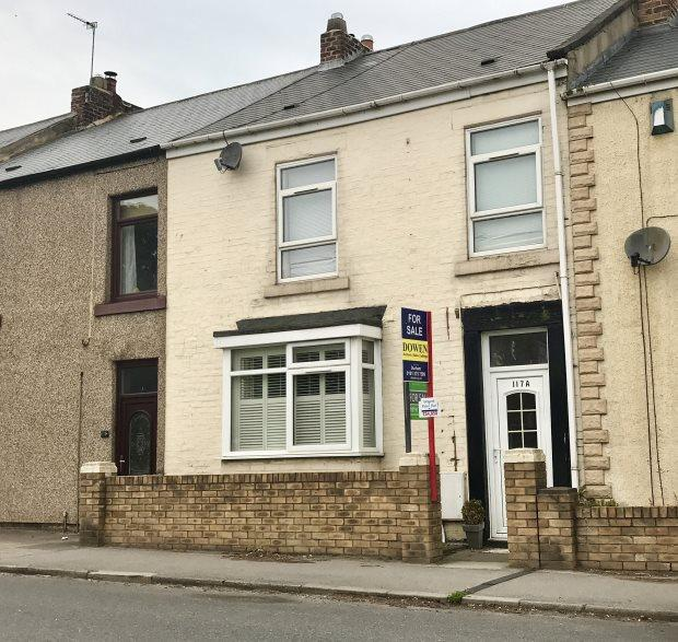 2 Bedrooms Ground Flat for sale in HIGH STREET NORTH, LANGLEY MOOR, DURHAM CITY : VILLAGES WEST OF