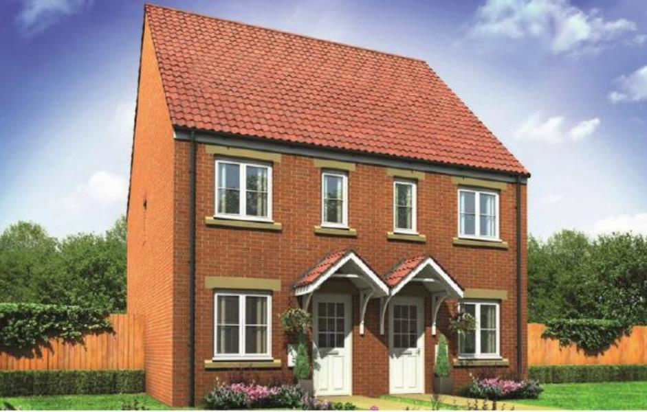 2 Bedrooms Semi Detached House for sale in PLOT 74, LINDALE PARK, ALVERTHRORPE WF2 0AN