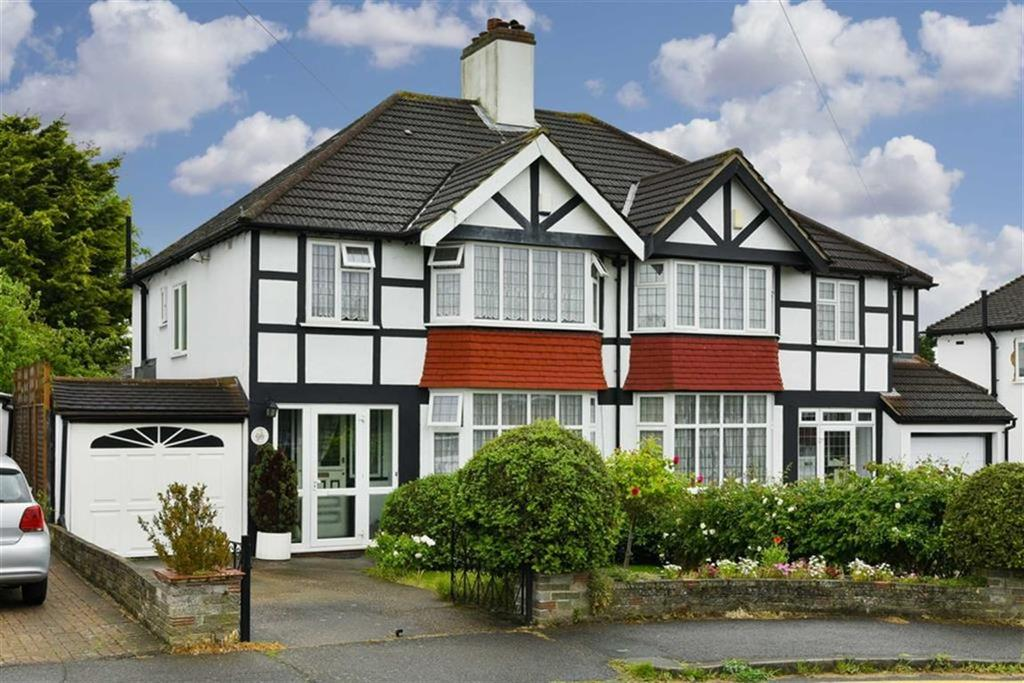 3 Bedrooms Semi Detached House for sale in Rosedale Road, Stoneleigh, Surrey