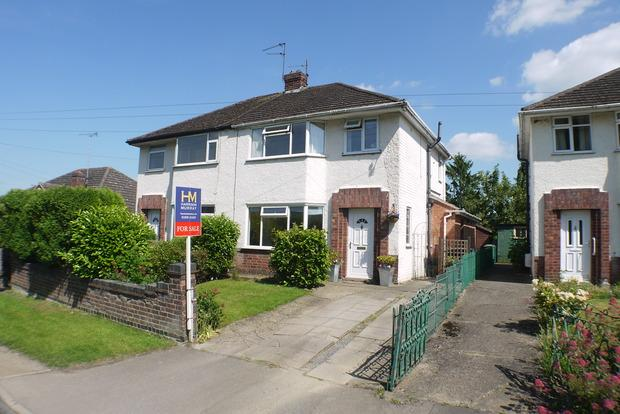 3 Bedrooms Semi Detached House for sale in Station Road, Great Bowden, Market Harborough, LE16