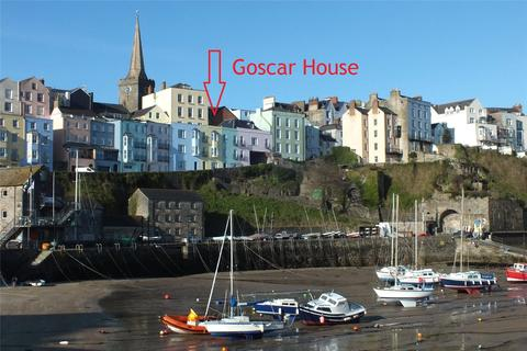 3 bedroom terraced house for sale - Goscar House, Crackwell Street, Tenby, Pembrokeshire