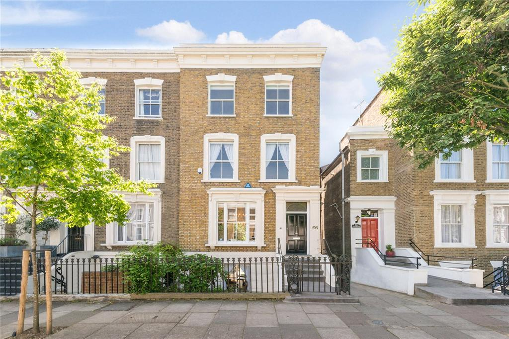 4 Bedrooms Semi Detached House for sale in Ockendon Road, Islington, London