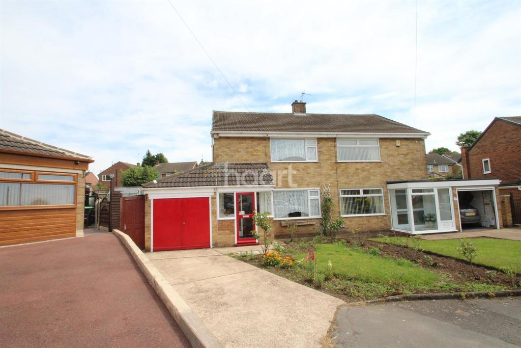 3 Bedrooms Semi Detached House for sale in Glendon Drive, Hucknall