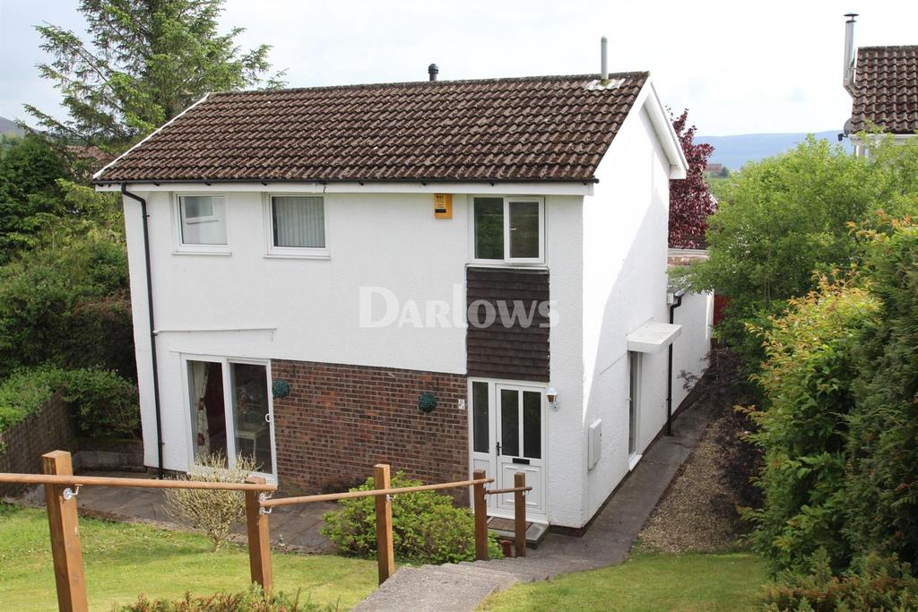 3 Bedrooms Detached House for sale in Brecon Rise, Pant, Merthyr Tydfil
