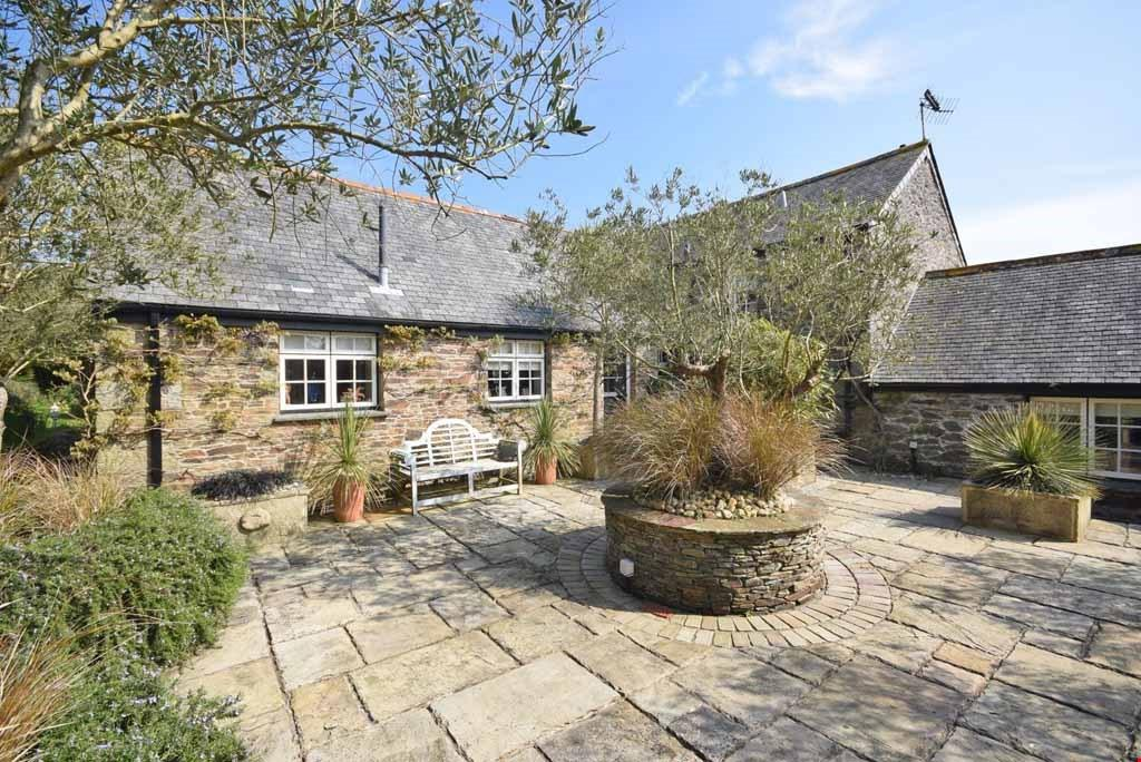4 Bedrooms Detached House for sale in Treviskey, Portloe, Roseland Peninsula, Nr. Truro, South Cornwall, TR2