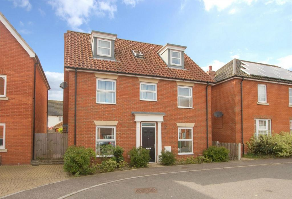 5 Bedrooms Detached House for sale in Lime Tree Avenue, Long Stratton, Norfolk