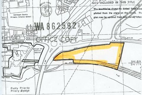 Land for sale - Land near Cardigan Hospital, Cardigan, Ceredigion