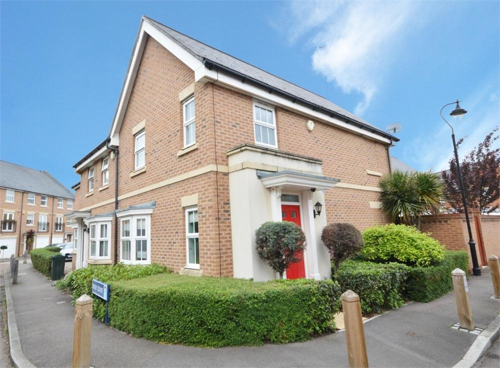 3 Bedrooms End Of Terrace House for sale in Reed Court, Ingress Park, Greenhithe
