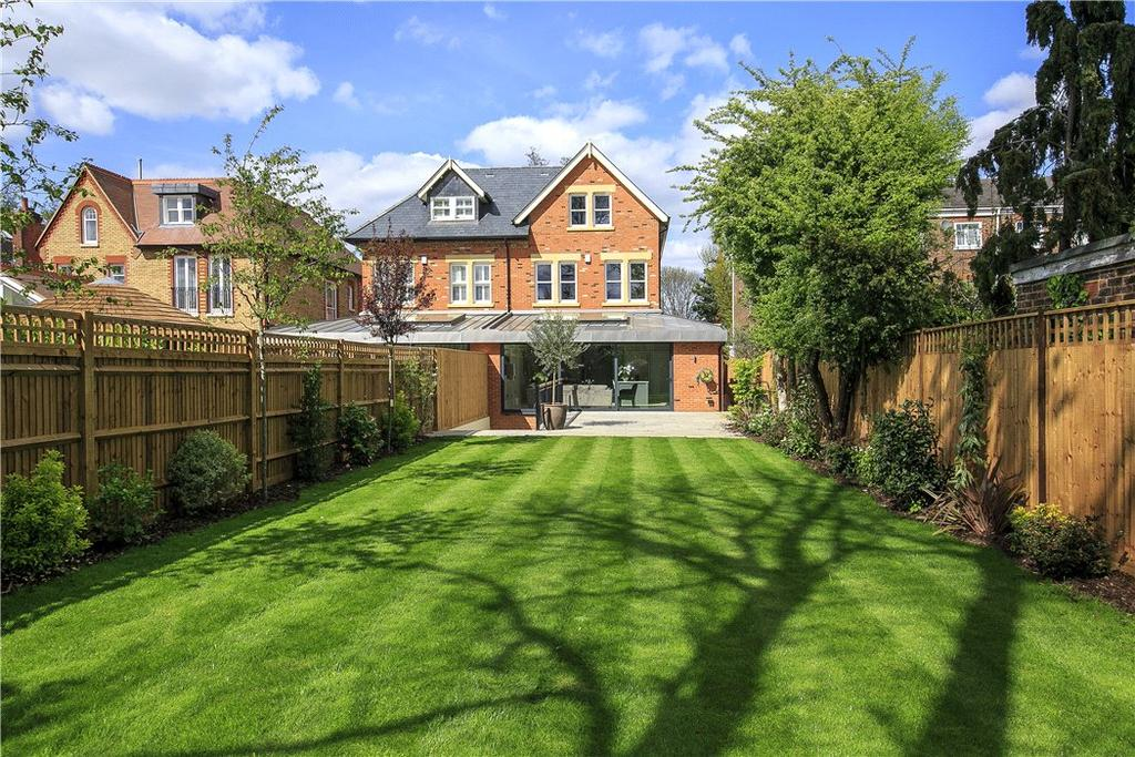 6 Bedrooms Semi Detached House for sale in Waldegrave Park, Richmond, Twickenham, TW1