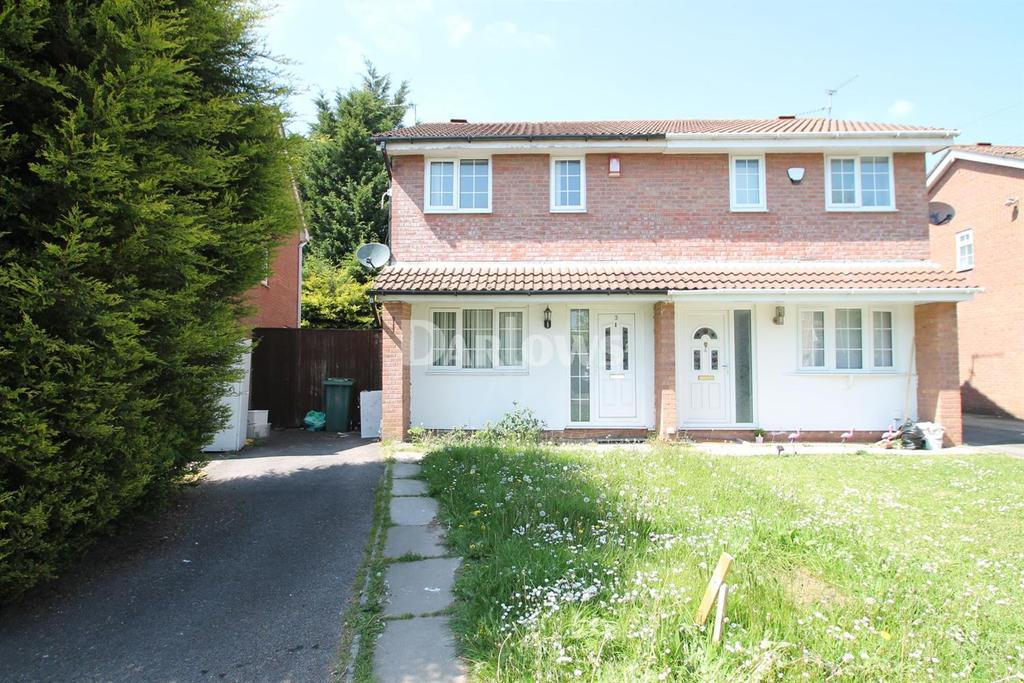 3 Bedrooms Semi Detached House for sale in Glenrise Close, St Mellons, Cardiff