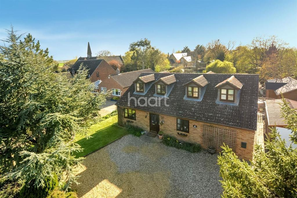4 Bedrooms Detached House for sale in Padnal Bank, Prickwillow