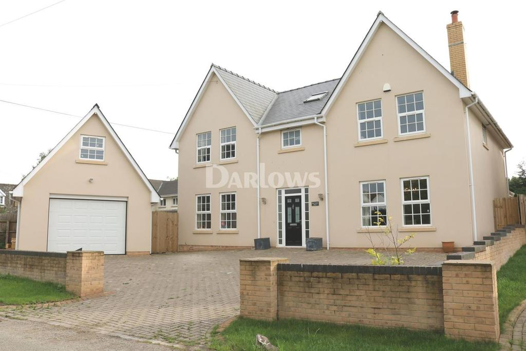 5 Bedrooms Detached House for sale in Church Road, Wentloog, St Brides