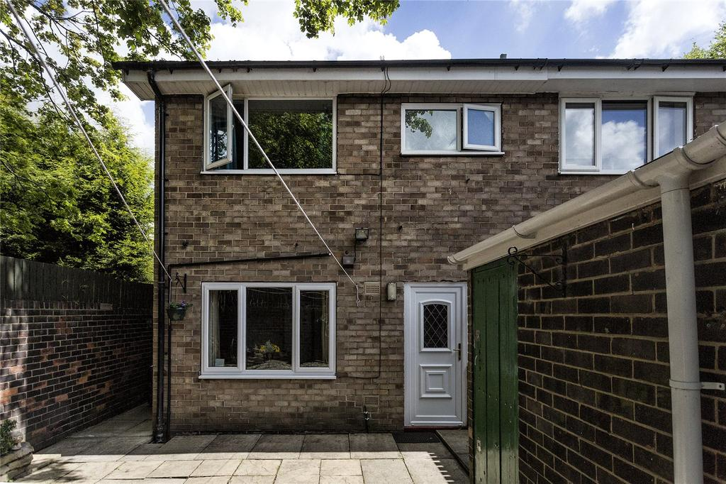 2 Bedrooms End Of Terrace House for sale in Hanover Gardens, Dewsbury, West Yorkshire, WF13