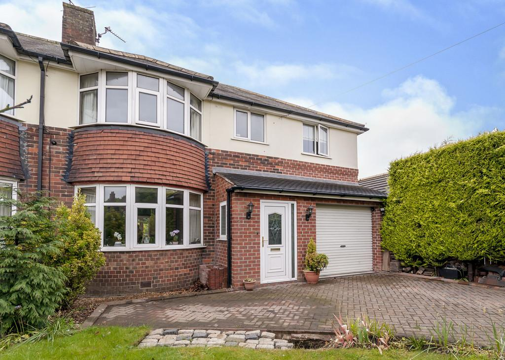 4 Bedrooms Semi Detached House for sale in Ellers Drive, Bessacarr, Doncaster, DN4 7DL