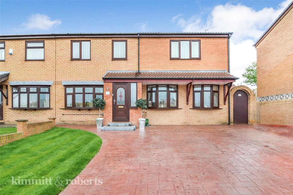 5 Bedrooms Semi Detached House for sale in Egremont Grove, Oakerside Park, Peterlee, Co.Durham, SR8