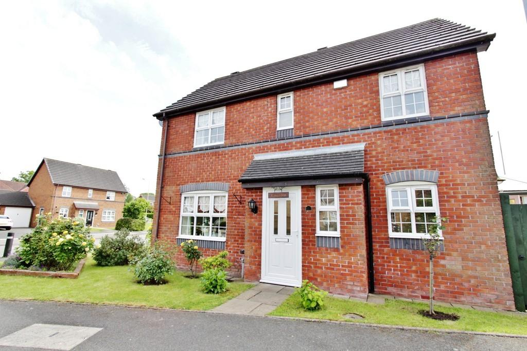 3 Bedrooms Detached House for sale in Robin Close, Two Gates