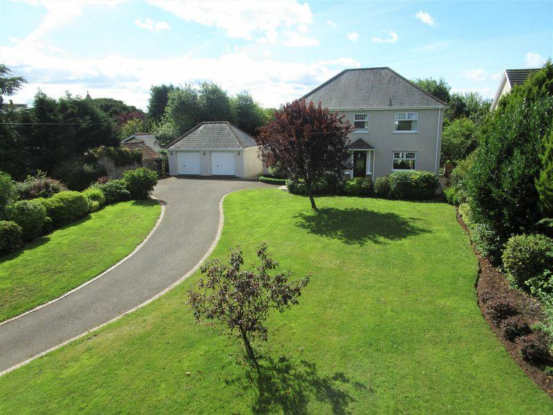 3 Bedrooms Detached House for sale in Brynteg Farm, Llanharry, Pontyclun, CF72 9LH