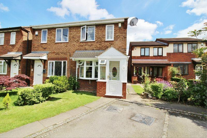 2 Bedrooms Semi Detached House for sale in Crown Court, Wednesbury