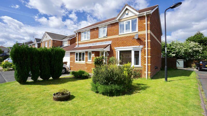 4 Bedrooms Detached House for sale in WOODLANDS GRANGE Forest Hall