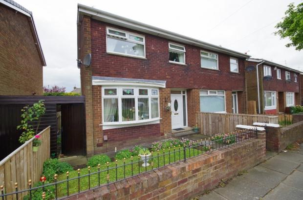 3 Bedrooms Semi Detached House for sale in Avonmouth Road, Farringdon, SR3