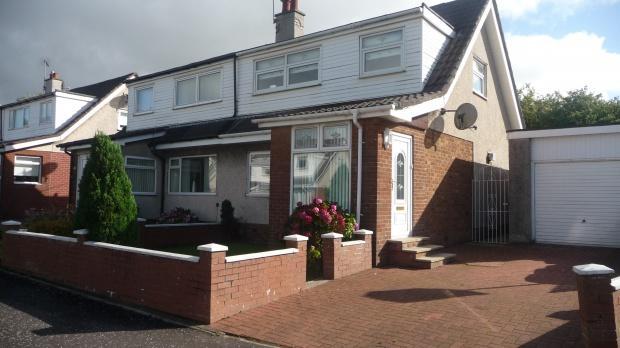 3 Bedrooms Semi Detached House for sale in Beveridge Terrace, Bellshill, ML4
