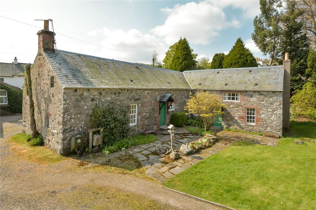 3 Bedrooms Detached House for sale in The Auld Mill Joiner's Cottage, Dykehead, Cortachy, By Kirriemuir, Angus, DD8