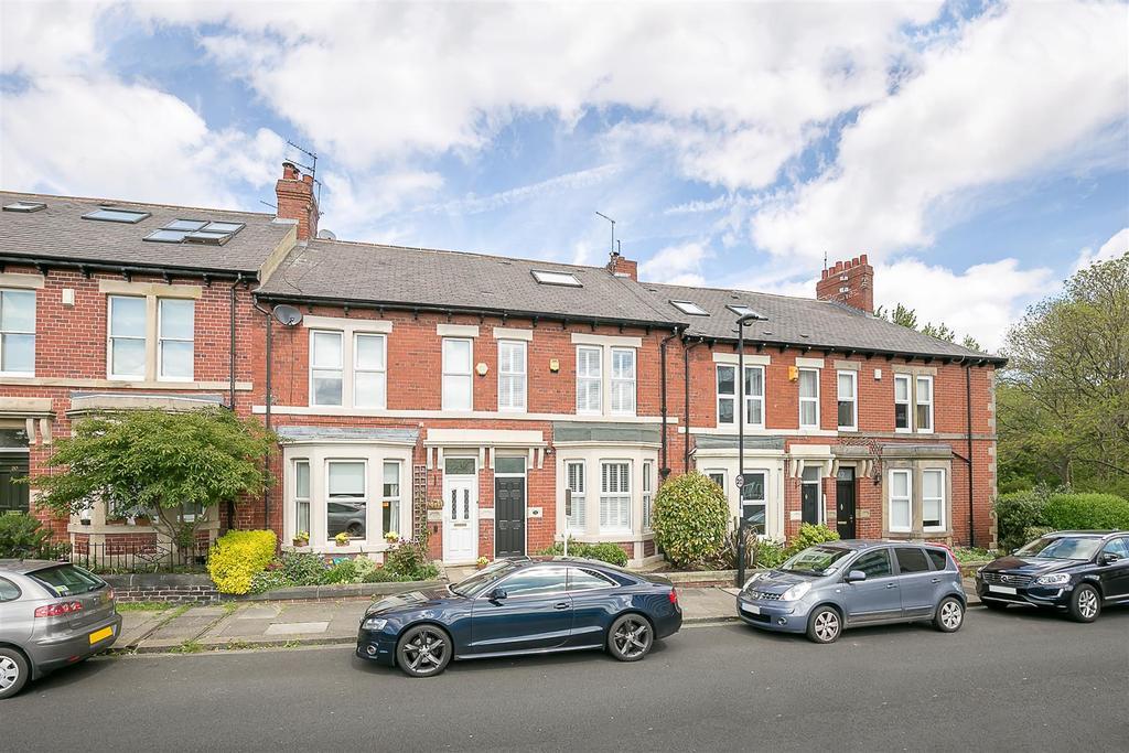 3 Bedrooms Terraced House for sale in Lansdowne Gardens, Jesmond Vale, Newcastle upon Tyne