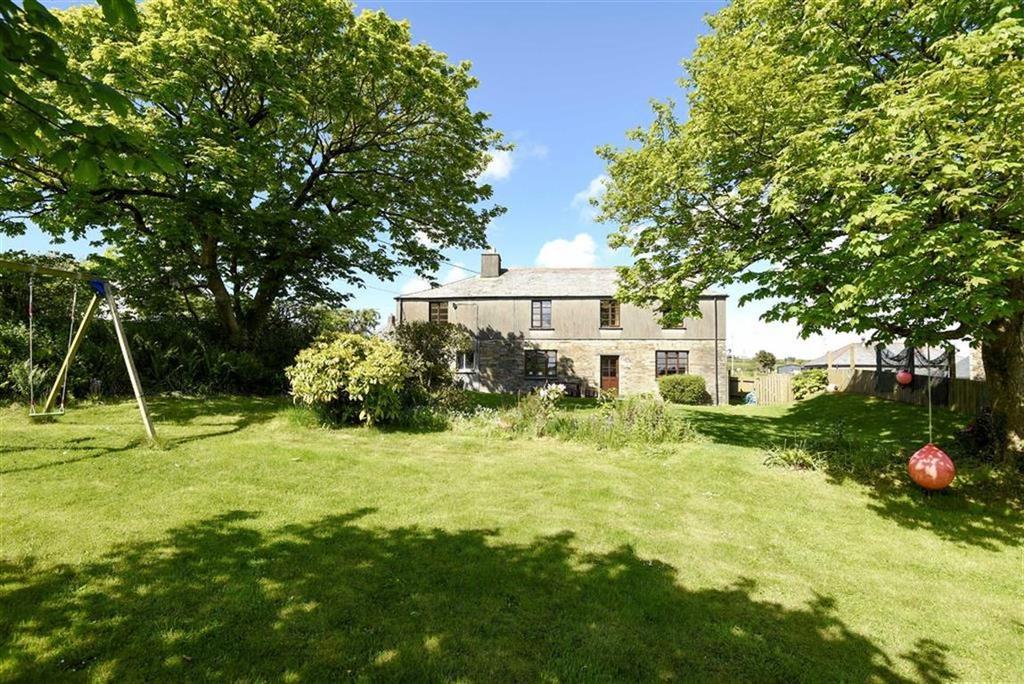4 Bedrooms Detached House for sale in Rockhead Street, Delabole, Cornwall, PL33
