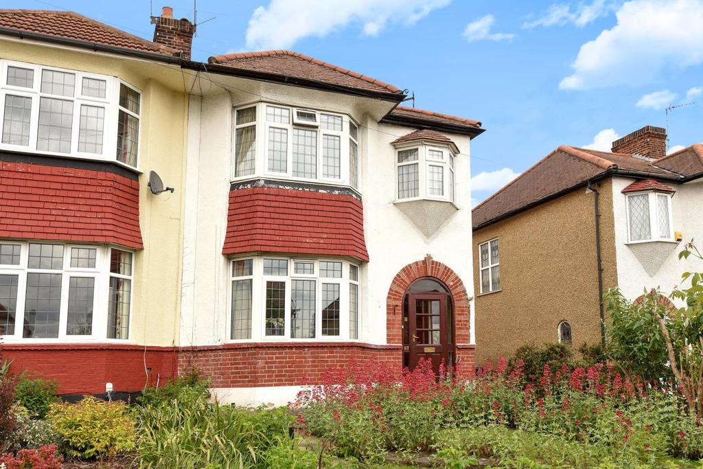 3 Bedrooms Semi Detached House for sale in Ashridge Gardens, Palmers Green, N13