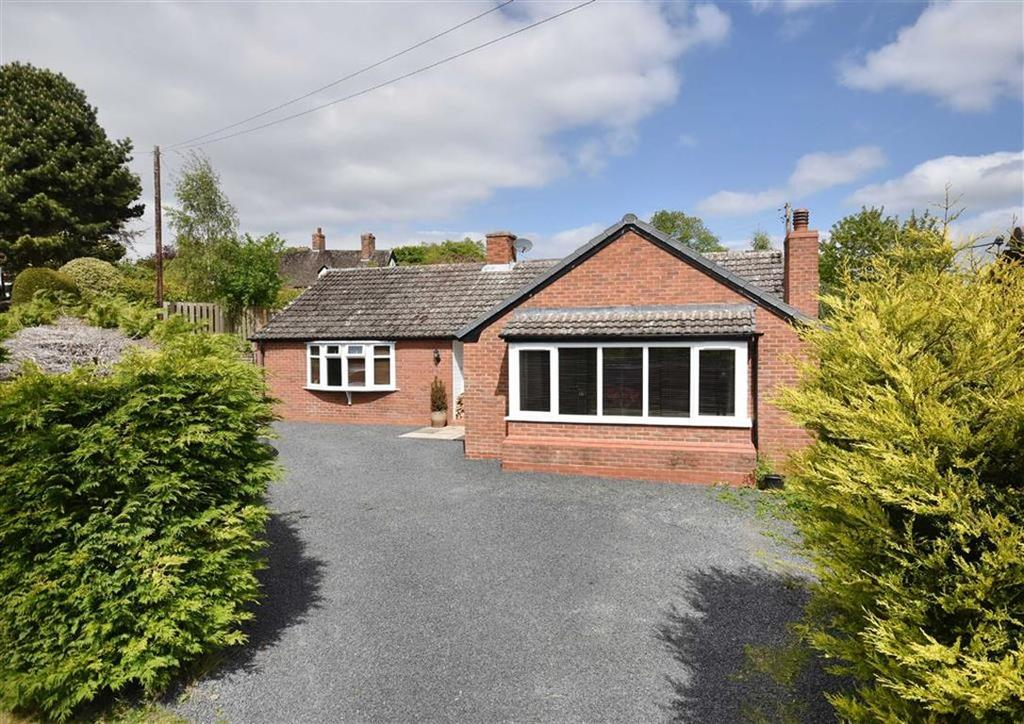 3 Bedrooms Detached Bungalow for sale in 1 Stableford Bungalows, Stableford, Bridgnorth, Shropshire, WV15