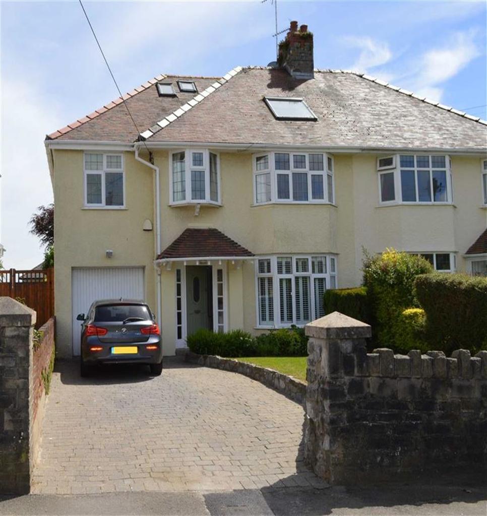 5 Bedrooms Semi Detached House for sale in Pyle Road, Bishopston, Bishopston Swansea