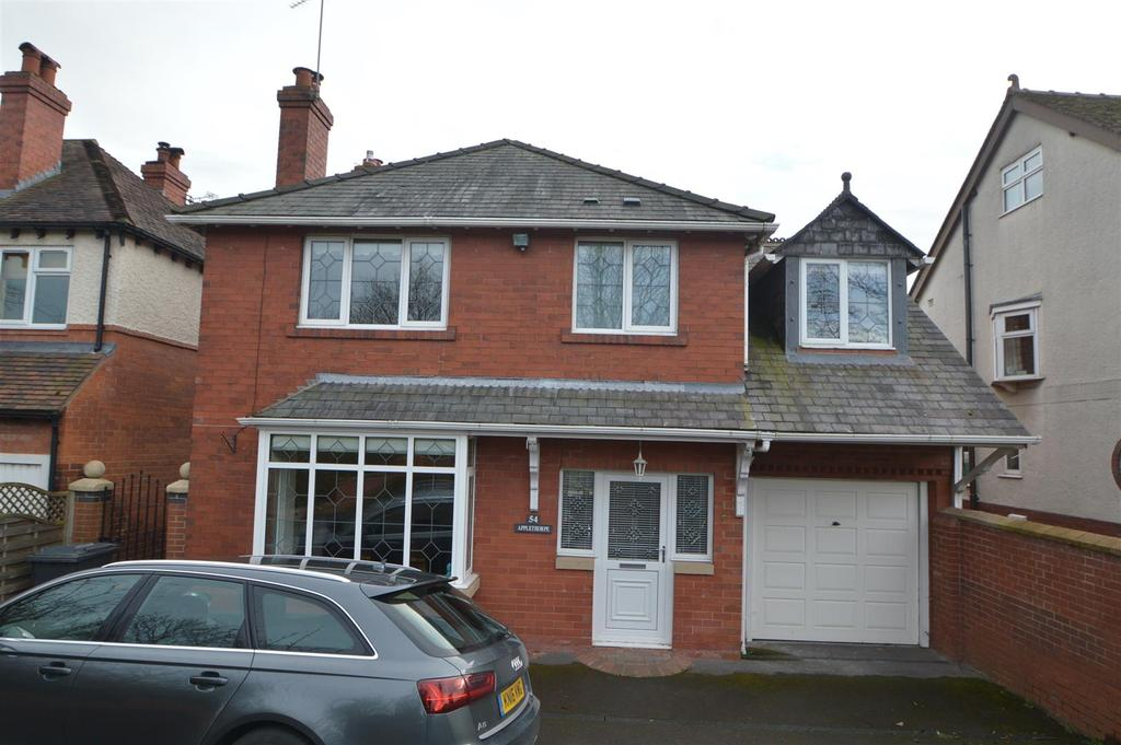 4 Bedrooms Detached House for sale in 54 Sundorne Road, Shrewsbury, SY1 4RT