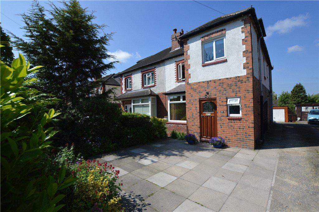 4 Bedrooms Semi Detached House for sale in Station Road, Scholes, Leeds