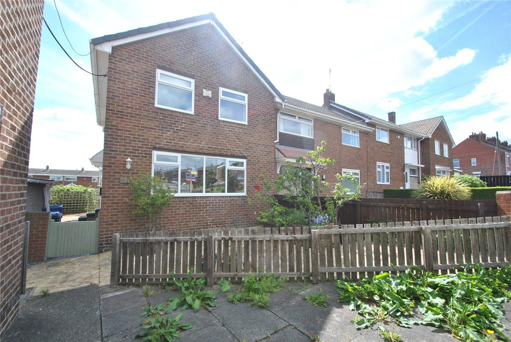3 Bedrooms End Of Terrace House for sale in Northlea Road, Northlea, Seaham, SR7