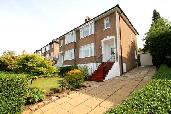 3 Bedrooms Semi-detached Villa House for sale in 54 Speirs Road, Bearsden, Glasgow, G61 2LU