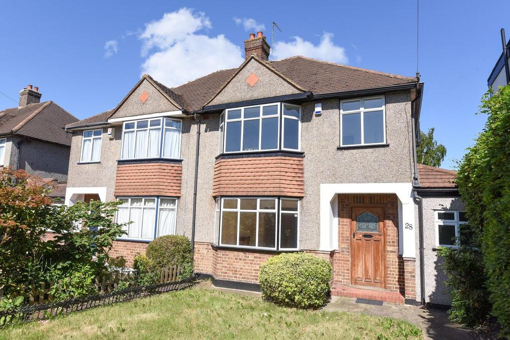 3 Bedrooms Semi Detached House for sale in Addington Road, West Wickham, BR4