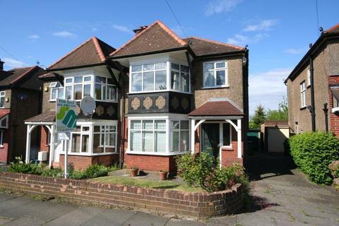 3 bedroom semi-detached house for sale - Grasmere Avenue, Wembley HA9 8TW