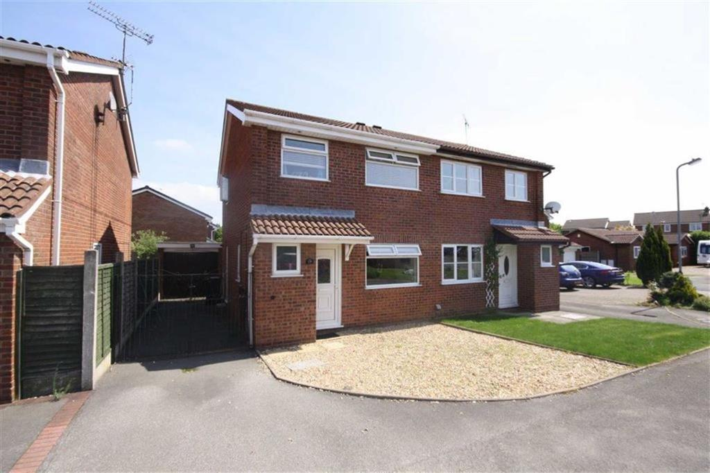 3 Bedrooms Semi Detached House for sale in Blackthorne Grove, Crowhill, Nuneaton