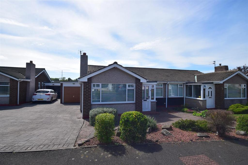2 Bedrooms Semi Detached Bungalow for sale in Broadmeadows, East Herrington, Sunderland
