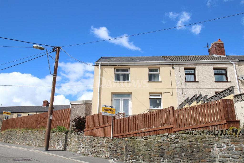 3 Bedrooms End Of Terrace House for sale in Dafalog Terrace New Tredegar