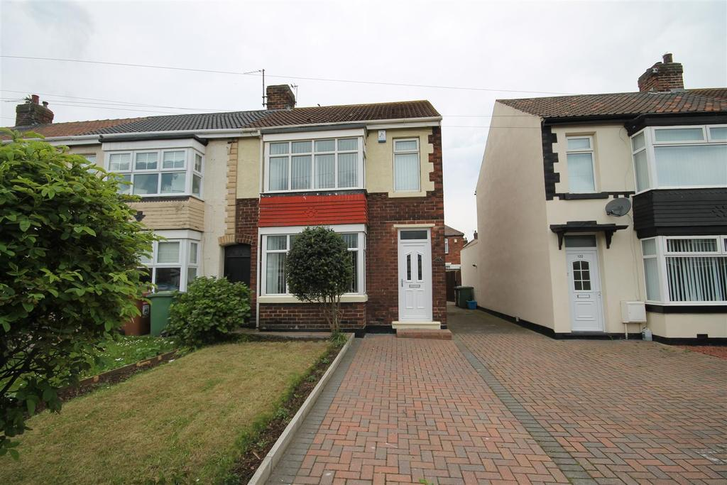 2 Bedrooms End Of Terrace House for sale in Brenda Road, Hartlepool