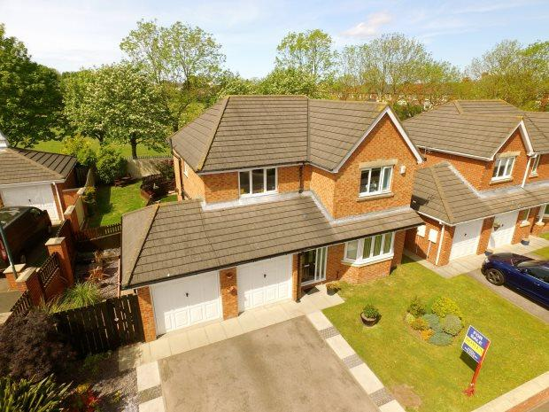 4 Bedrooms Detached House for sale in NURSERY GARDENS, EASINGTON VILLAGE, PETERLEE AREA VILLAGES