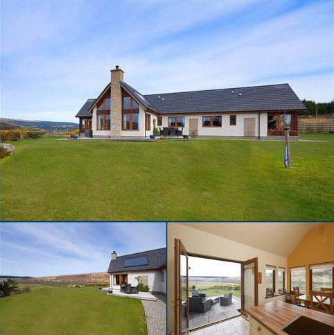 3 bedroom detached bungalow for sale - Ghillies View, Strathoykel, Ardgay, IV24