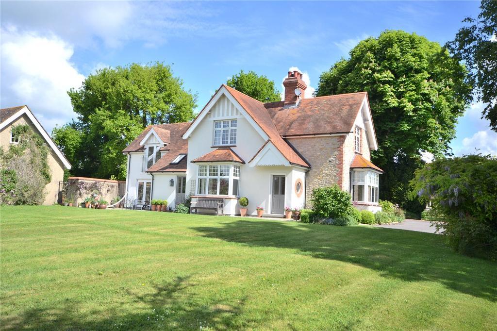 4 Bedrooms Detached House for sale in Wavering Lane West, Gillingham, SP8
