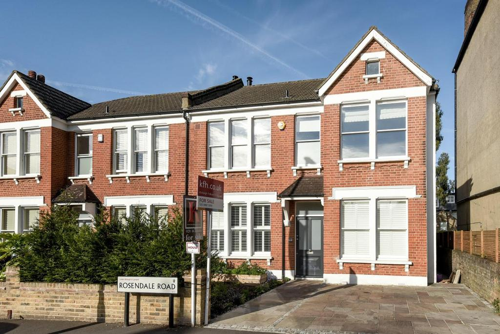 4 Bedrooms Semi Detached House for sale in Rosendale Road, West Dulwich, SE21