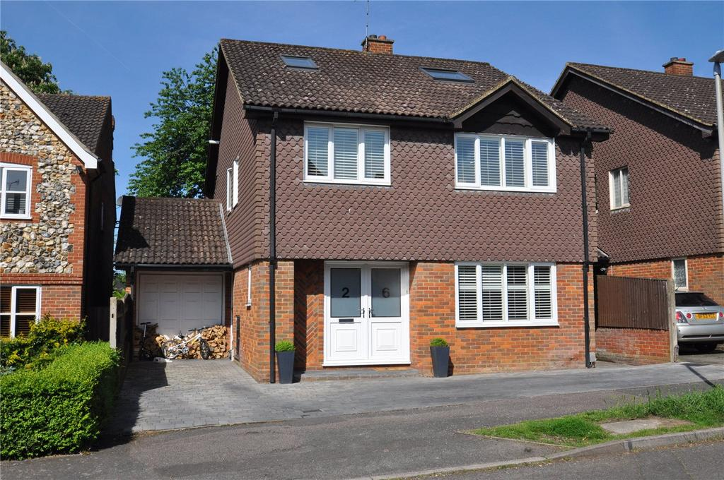 5 Bedrooms Detached House for sale in Forge End, Chiswell Green, St Albans, Hertfordshire