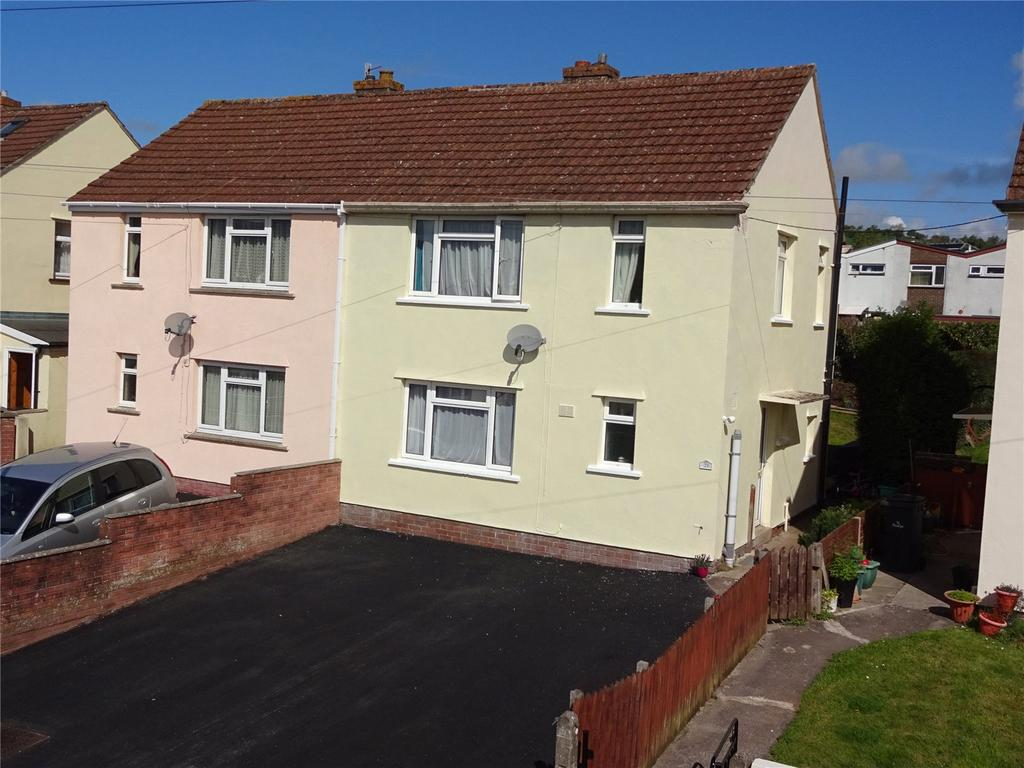 3 Bedrooms Semi Detached House for sale in Coryton Close, Brecon, Powys