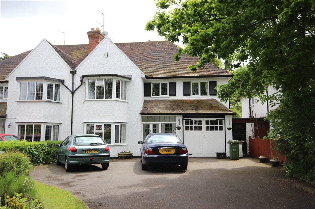 4 Bedrooms Semi Detached House for sale in Blossomfield Road, Solihull, West Midlands, B91