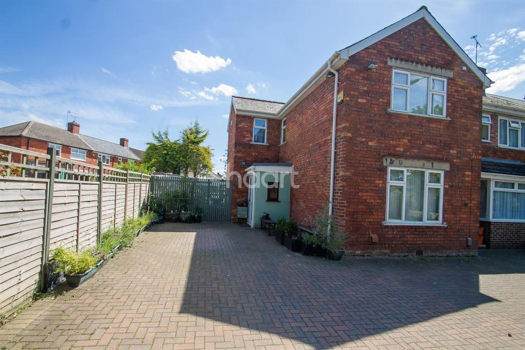 3 Bedrooms End Of Terrace House for sale in Whitworth Road, Swindon, Wiltshire
