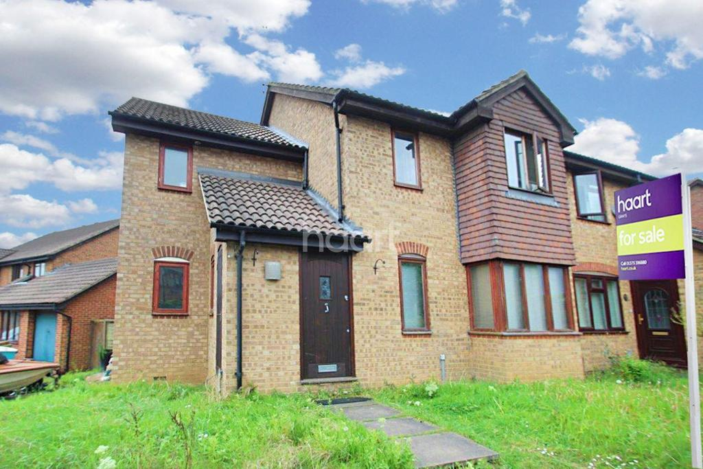 4 Bedrooms Semi Detached House for sale in Ark Avenue, Chafford Hundred